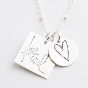 'Be Kind' by Heidi Swapp™ Charm Necklace
