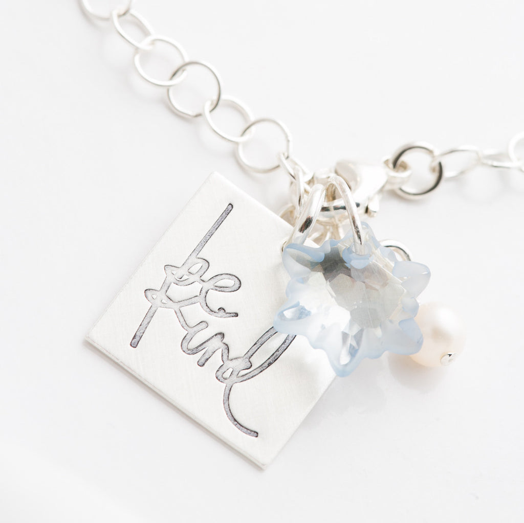 'Be Kind' by Heidi Swapp™ Charm Bracelet