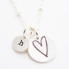 Heart by Heidi Swapp™ and Initial Charm Necklace