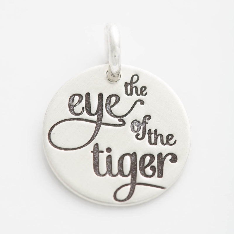 'The Eye of the Tiger' Charm