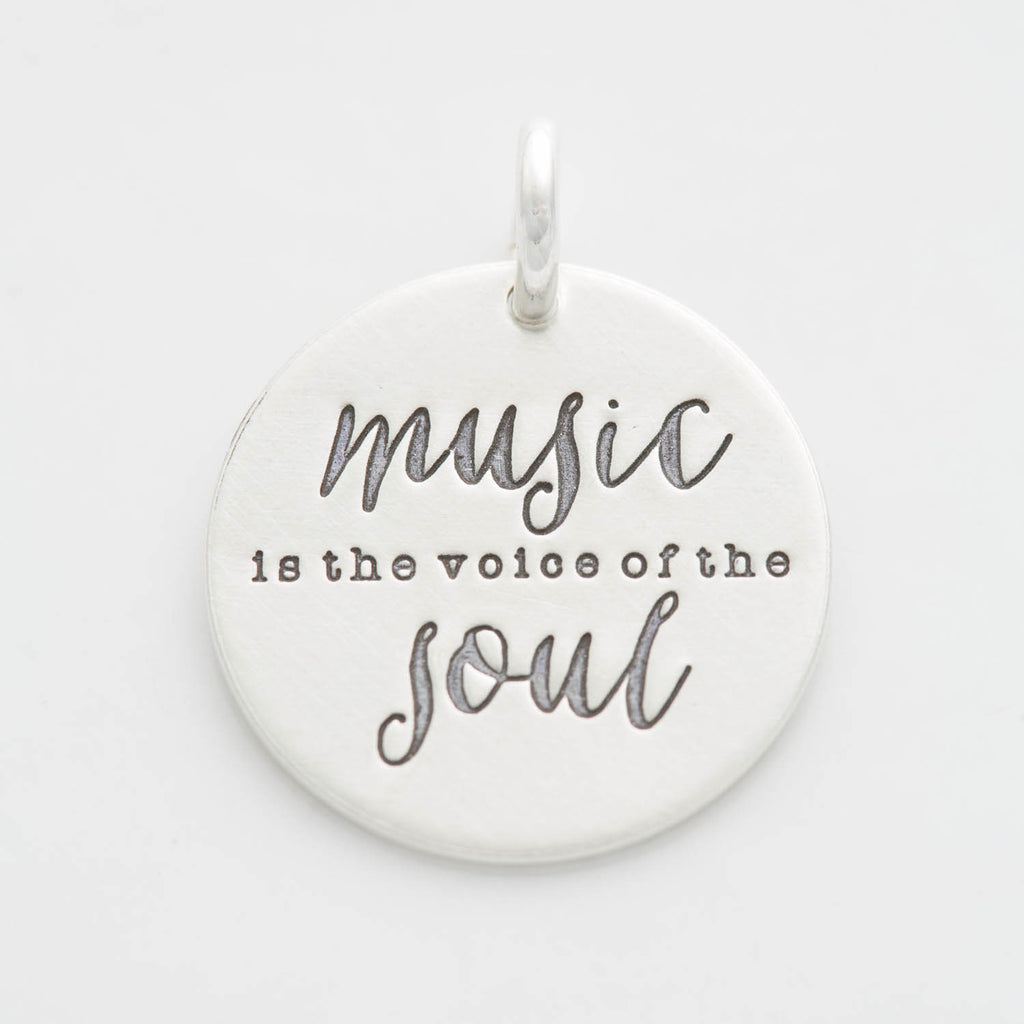 'Music is the Voice of the Soul' Charm