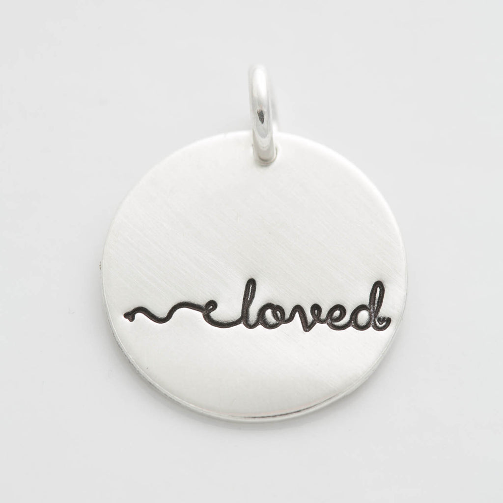 'Loved' Charm