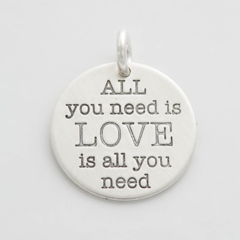 'All You Need is Love' Charm