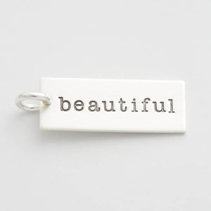 'Beautiful' Charm