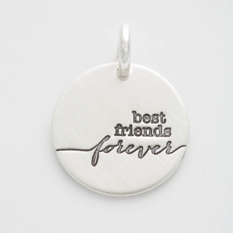 'Best Friends Forever' Charm