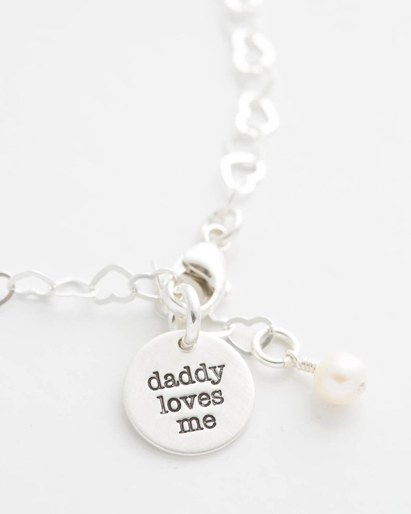 'Daddy Loves Me' Tiny Charm