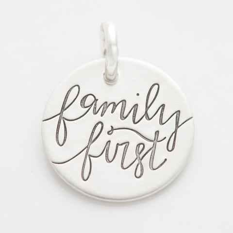 'Family First' Charm