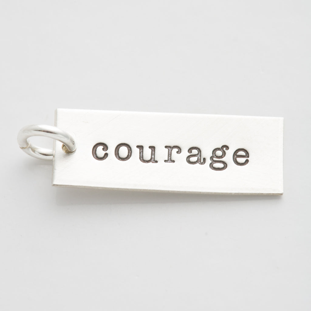 'Courage' Charm