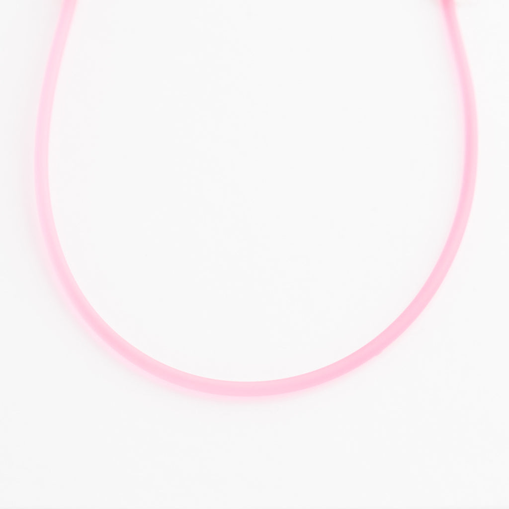 Pink Rubber Cord