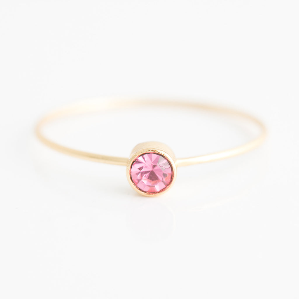 white the pink birthstone ring products black rings filled october or gold