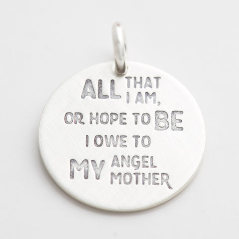 'Angel Mother' by Abraham Lincoln Charm