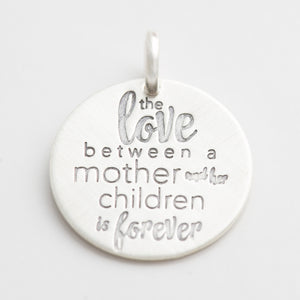 'The Love Between Mother and Children' Charm