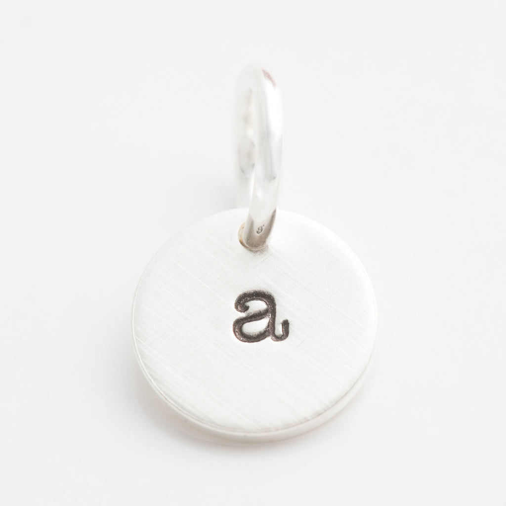 Teeny Tiny Initial Charm