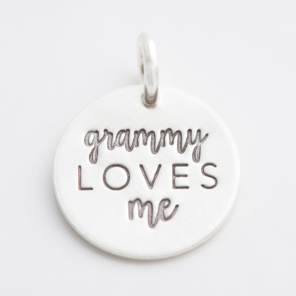 'Grammy Loves Me' Charm