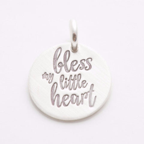 'Bless My Little Heart' Charm