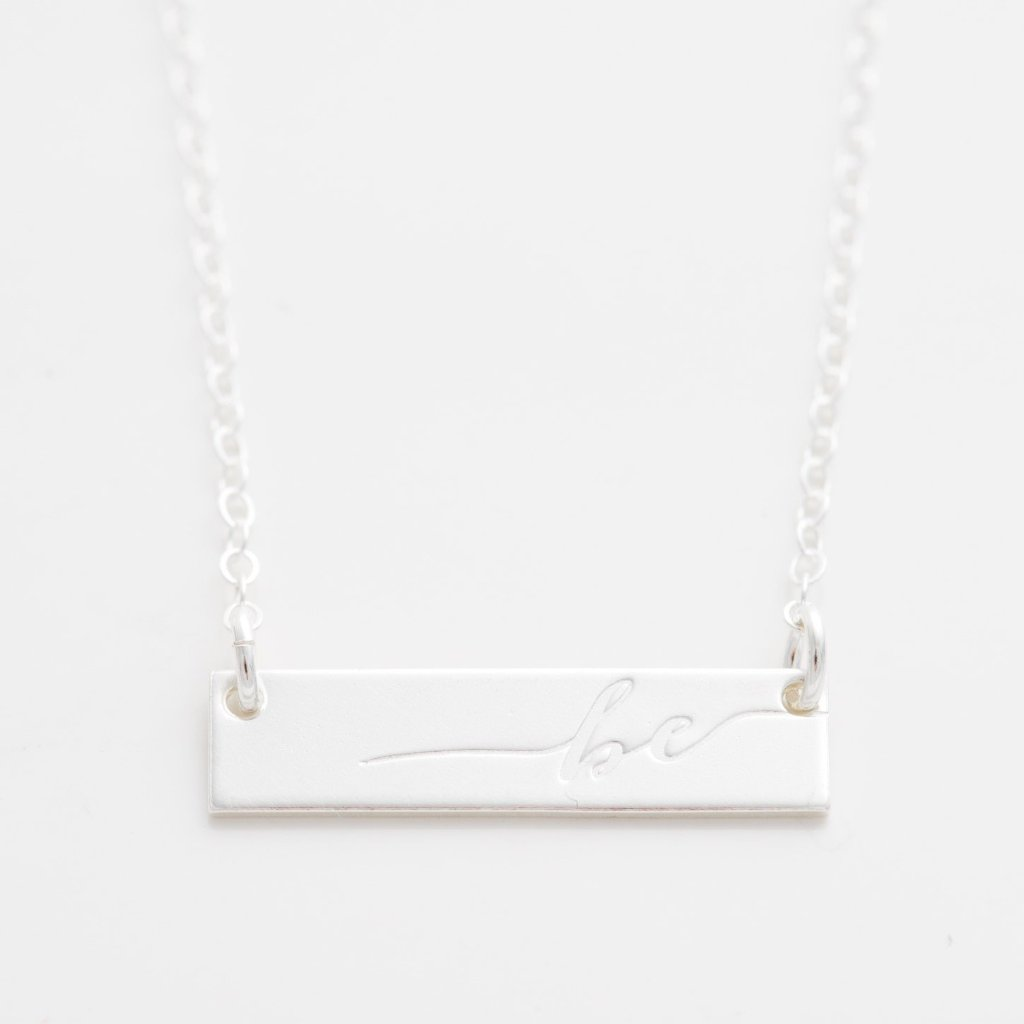 'Be' Bar Necklace