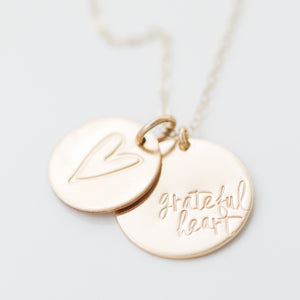 'Grateful Heart' Charm by Heidi Swapp™ (Limited Edition)