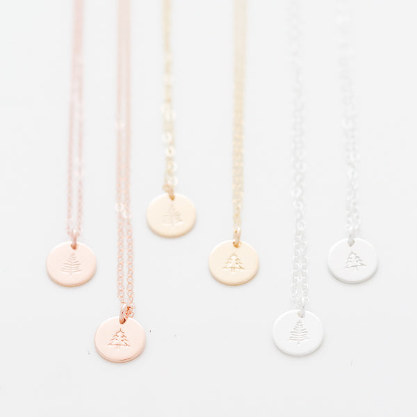 Evergreen Necklace - Charity For Primary Children's