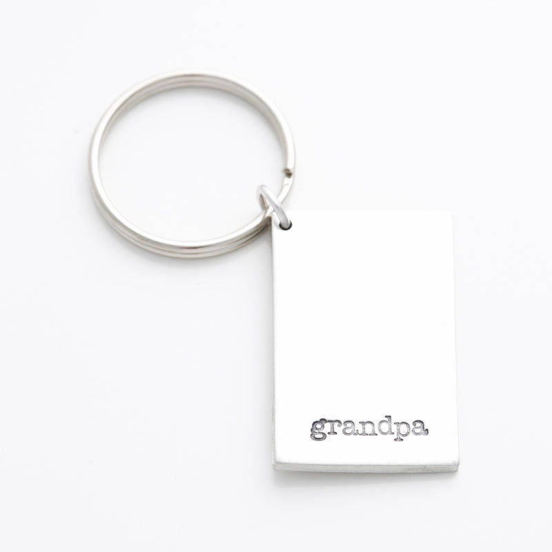 'Grandpa' Key Chain