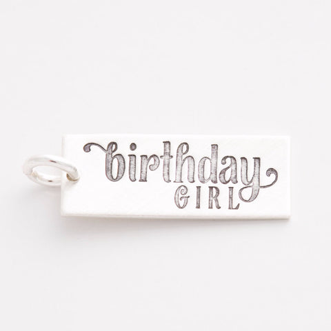 'Birthday Girl' Charm