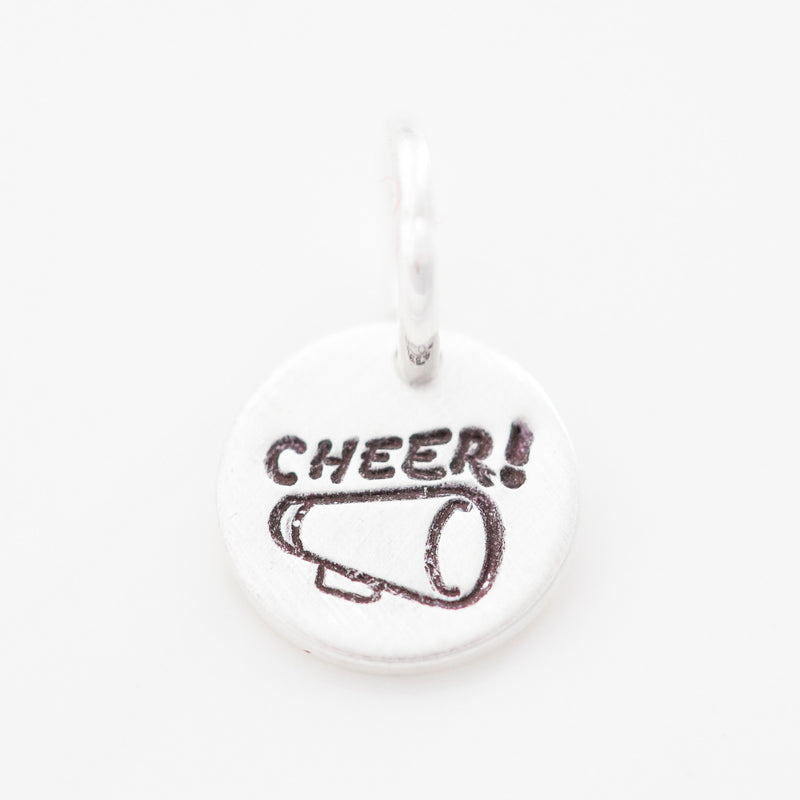 Teeny Tiny 'Cheer' Charm