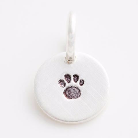 Teeny Tiny Paw Charm