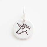 Teeny Tiny Unicorn Charm