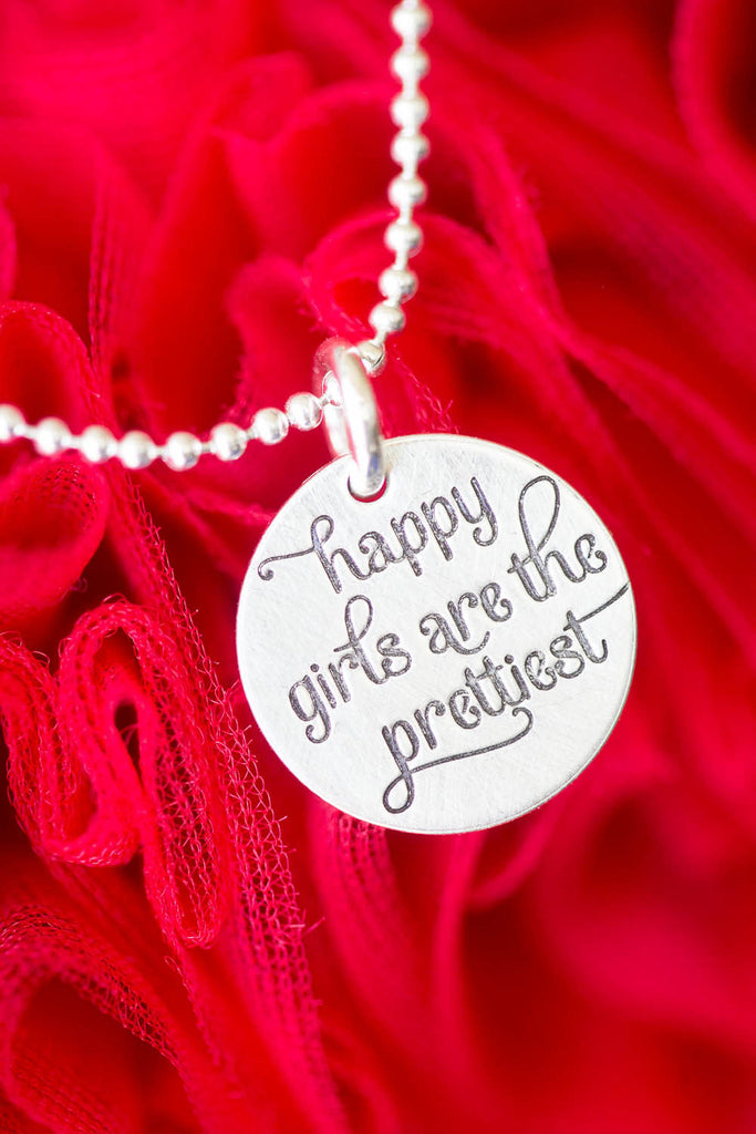 'Happy Girls are the Prettiest' Charm