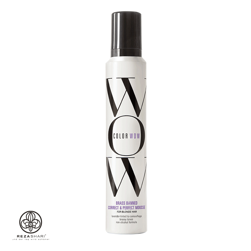 Color Wow - BRASS-BANNED MOUSSE for Blonde Hair
