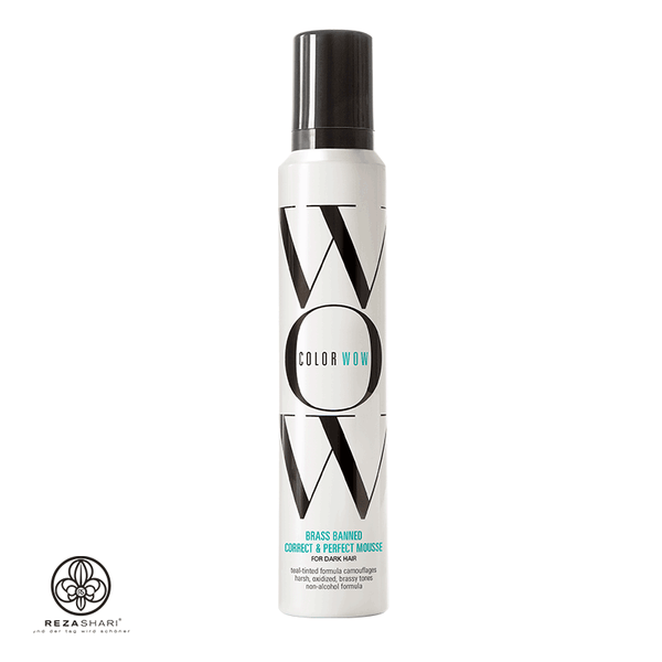 Color Wow - BRASS-BANNED MOUSSE for Dark Hair