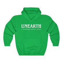 Load image into Gallery viewer, Unearth White Logo Unisex Heavy Blend™ Hooded Sweatshirt