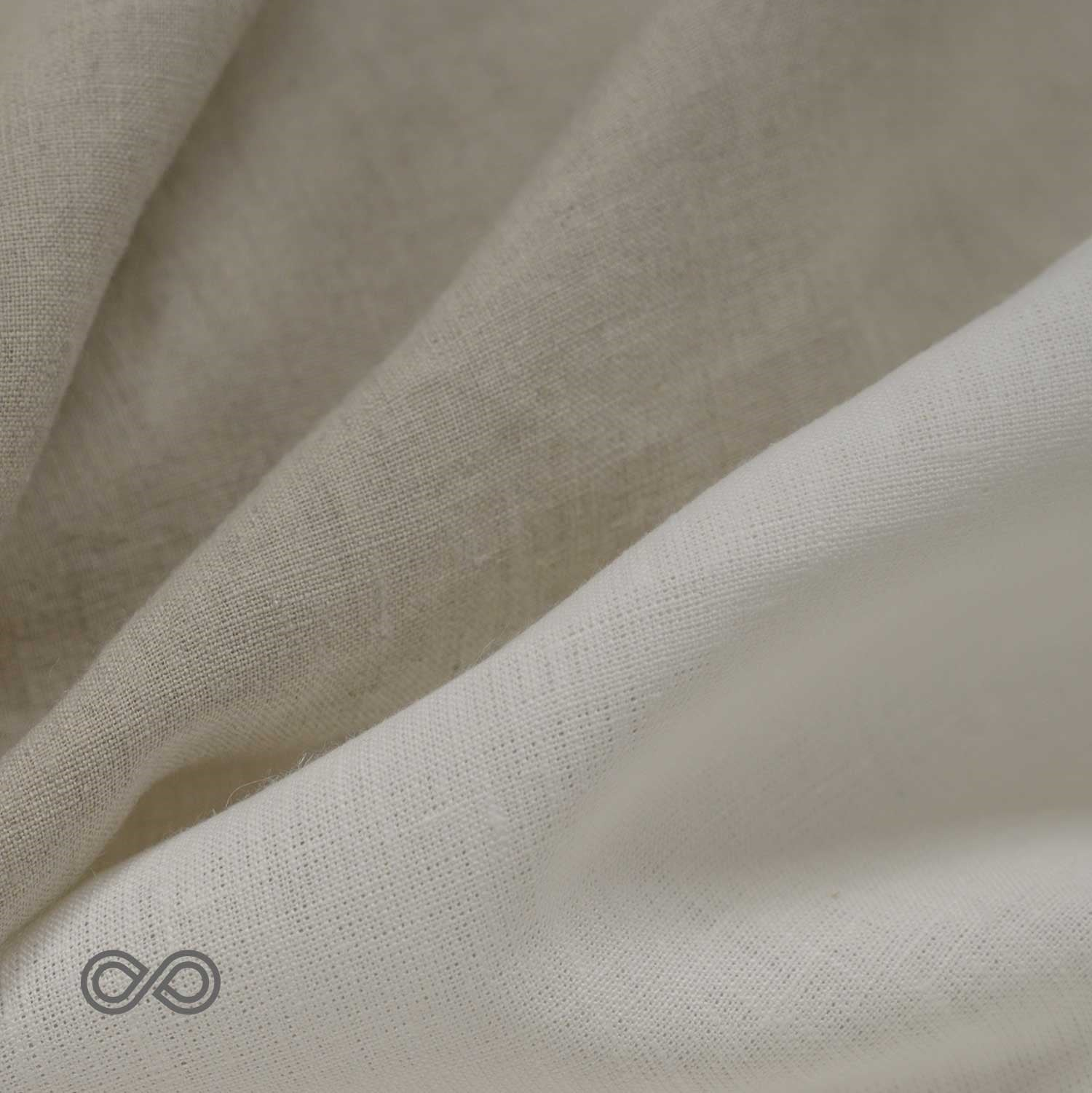 Fabric by the yard or meter Wide Natural undyed linen fabric Natural organic flax fabrics