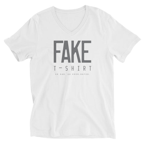 Fake T-shirt (so sad, so over-rated) V-neck