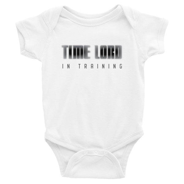 Time Lord In Training Infant Onesie