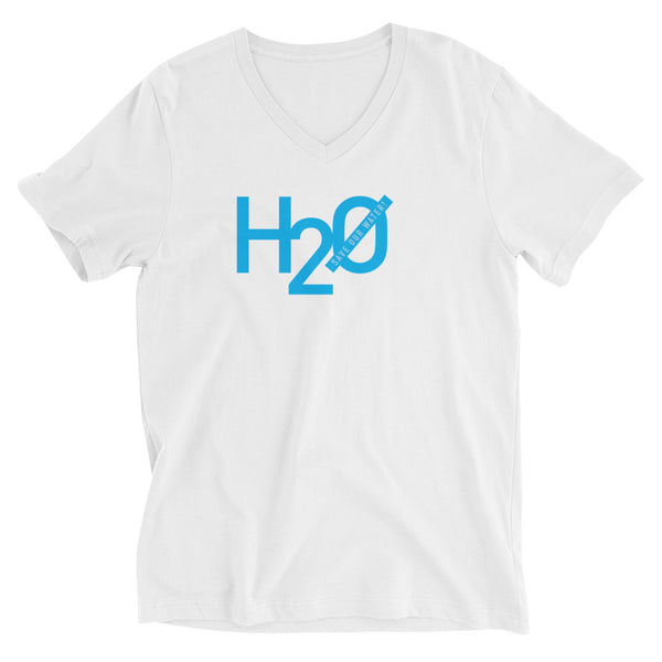 H2 Zero (Save our water!) V-neck