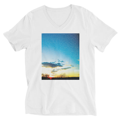 Pi in the Sky V-neck