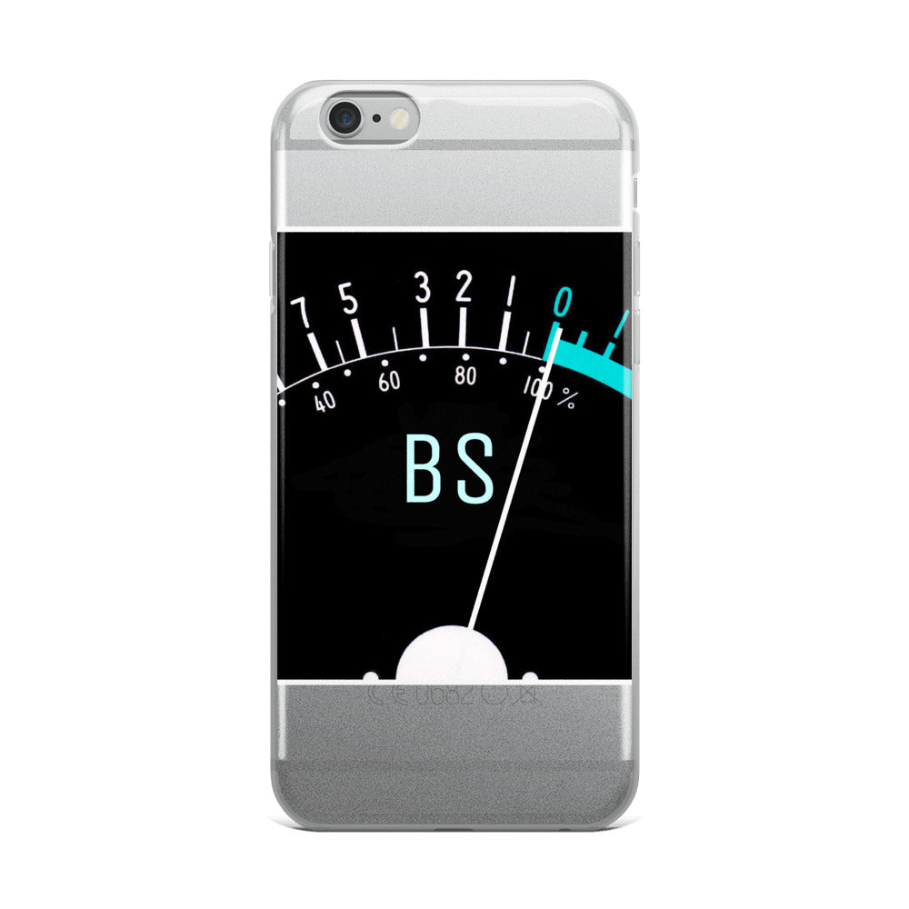 BS-O-Meter iPhone 5/5s/Se, 6/6s, 6/6s Plus Case