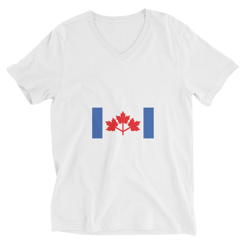 Pearson's Pennant (and the great Canadian Flag Debate) V-neck