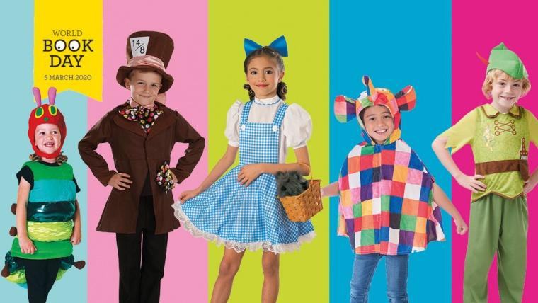 30 World Book Day Costume Ideas for Kids | Fancydress.com