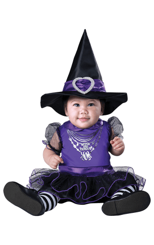 Baby witch and famous costume