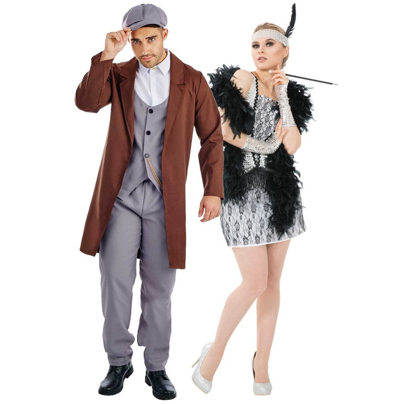 1920s costumes - Peaky Blinders and Gatsby Girl