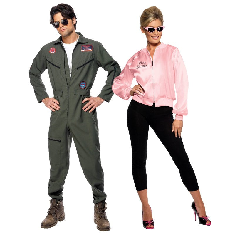 Movie costumes - Top Gun and Pink Lady