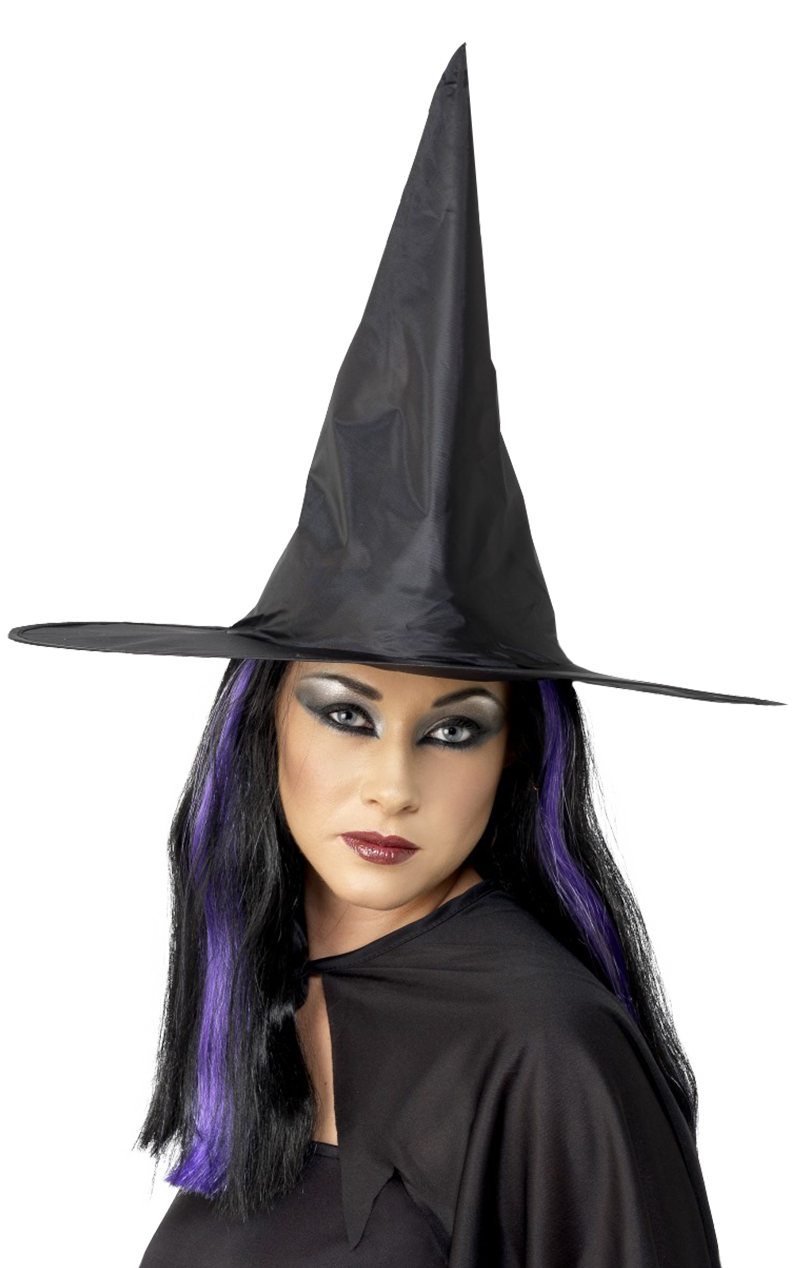 Nylon Witch Hat Accessory