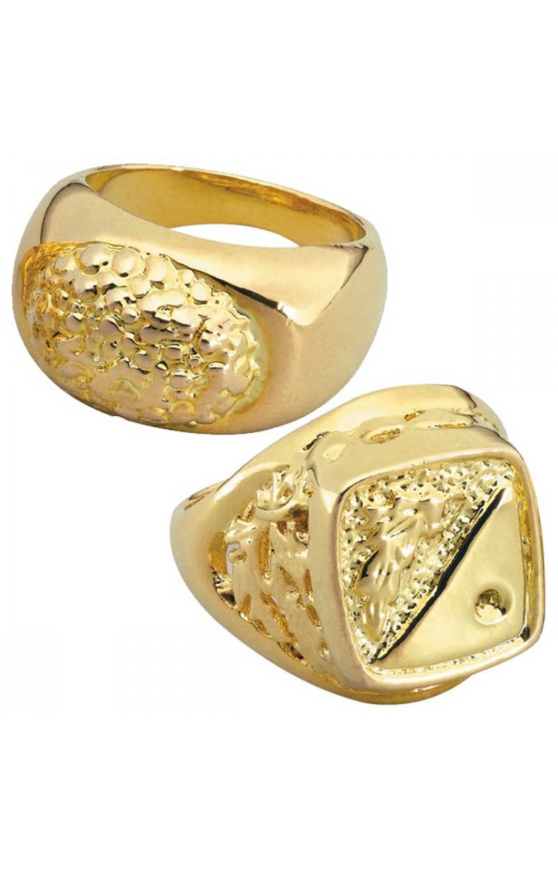Gold Ring Accessory