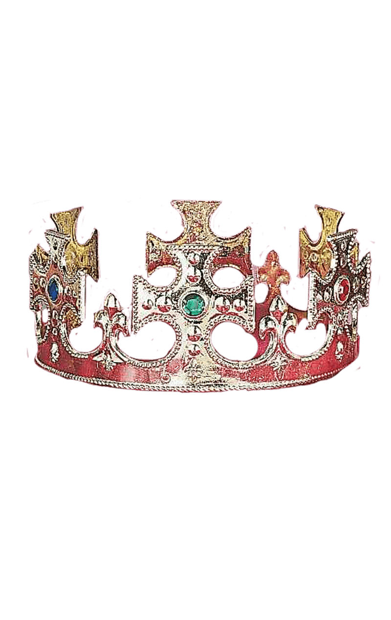 Gold Kings Crown Accessory