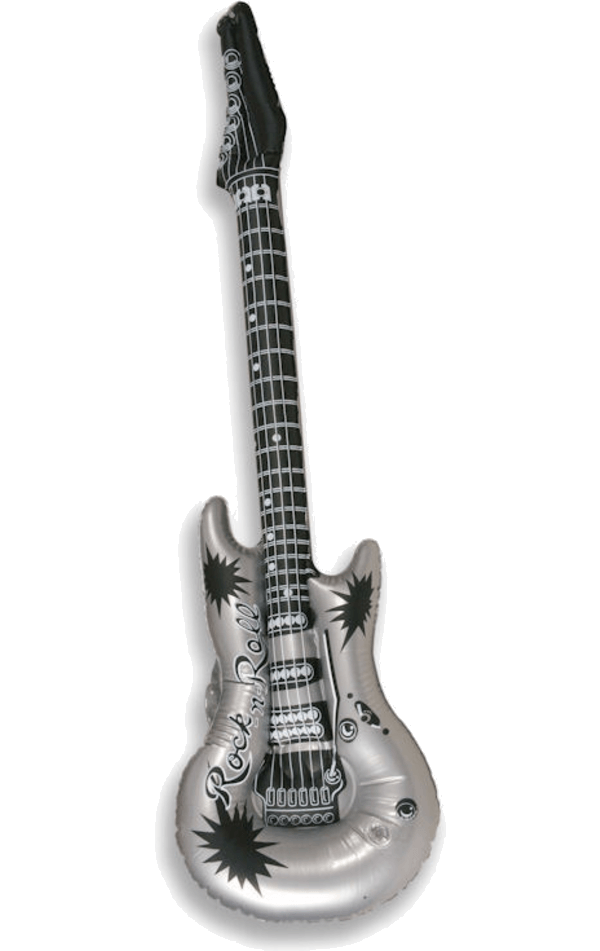 Inflatable Guitar Accessory