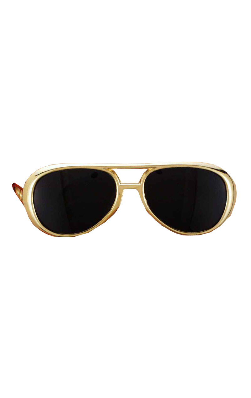 Elvis Shades Gold Accessory