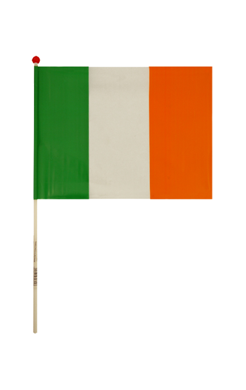 Ireland Hand Flag Decoration