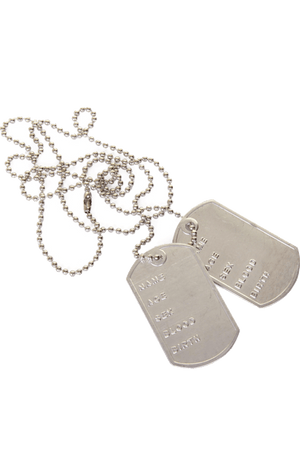 Dogtag Chain Accessory