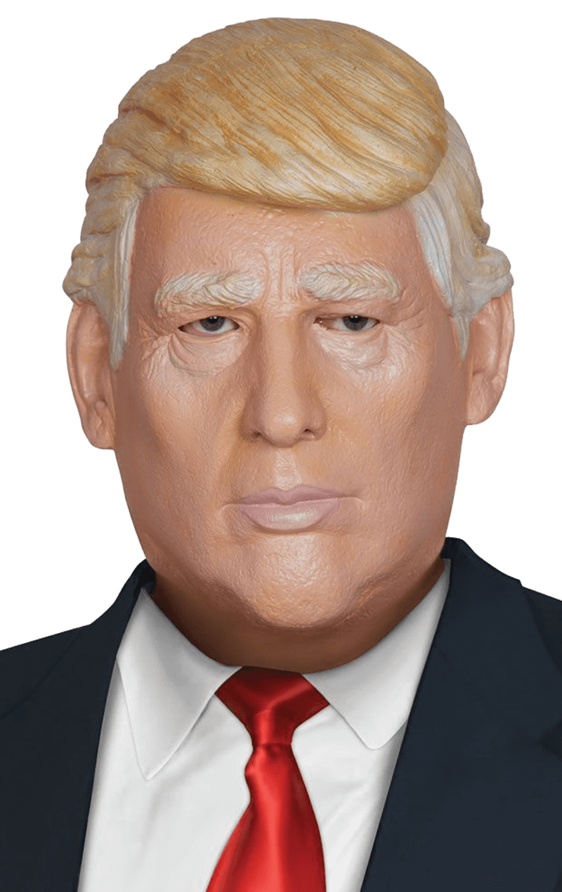 Latex Donald Trump Facepiece